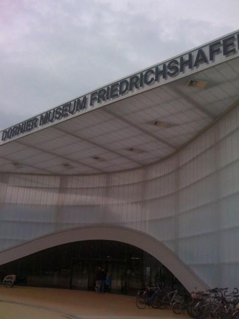 Eingangspforte Dornier Museum Friedrichshafen