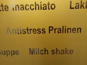 Antistress Pralinen