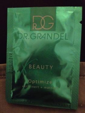 Dr. Grandel Optimize - Eine Probe mit Folgen